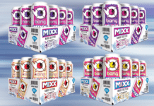 Bang MIXX hard seltzer in 12 packs