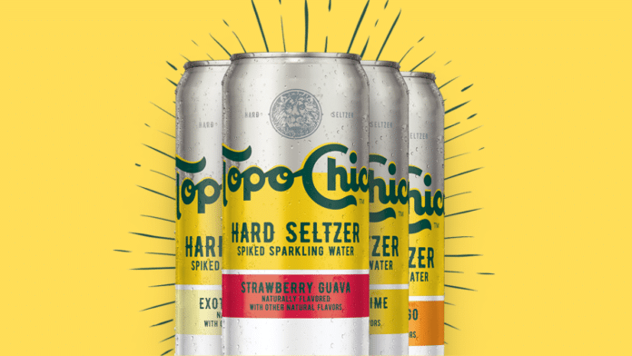 Topo Chico official launch in US