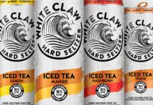 White Claw Iced Tea
