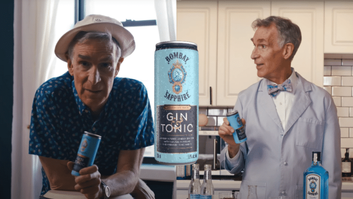 Bill Nye for Bombay Gin