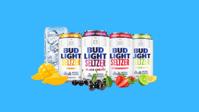 Bud Light Seltzer Canada cans