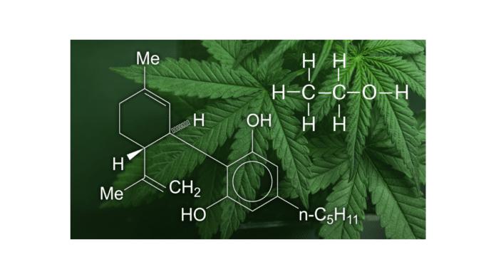 CBD seltzer organic chemistry