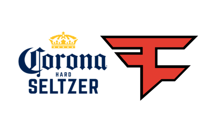 Corona hard seltzer FaZe