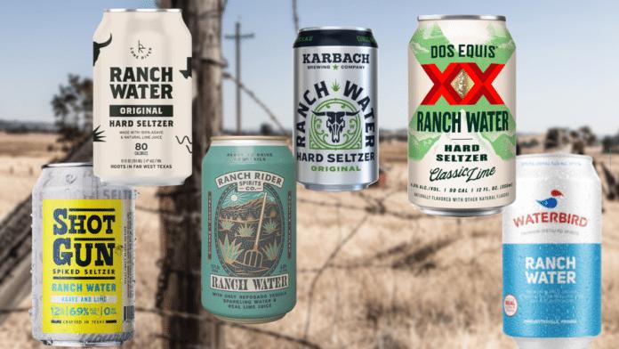 Ranch Water hard seltzer