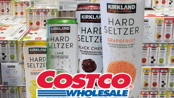 Hard Seltzer from Kirkland Costco