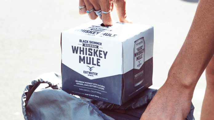 Cutwater Whiskey Mule canned cocktail