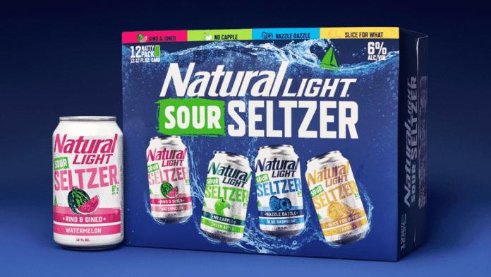 Natty Light Sour Seltzer