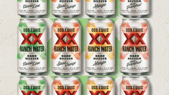 Dos Equis Ranch Water flavors